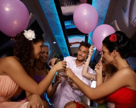 Limousine birthday party service or packages in Scottsdale