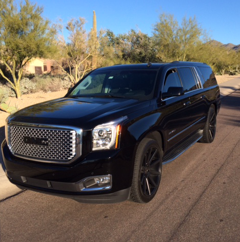 2015 GMC Denali - a hot ride!