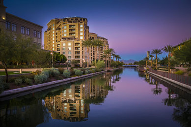 Canal in Scottsdale, Arizona